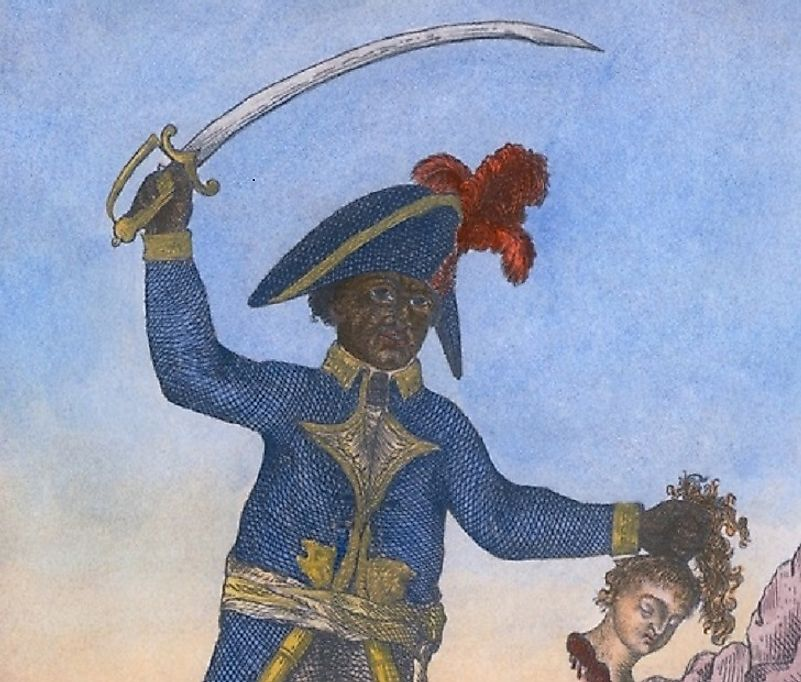 "As ""Emperor of Haiti"", Jean-Jacques Dessalines massacred thousands. Still, he is viewed by many as an iconic symbol of Hatian nationalism and independence."
