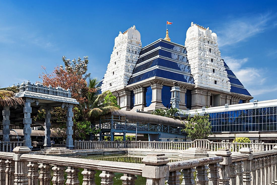 The International Society for Krishna Consciousness in Bangalore, India.