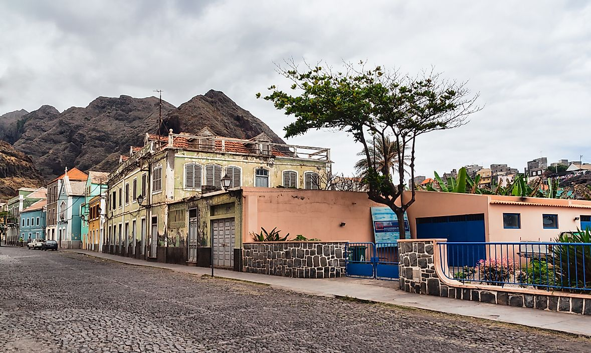 Architecture in Cape Verde.