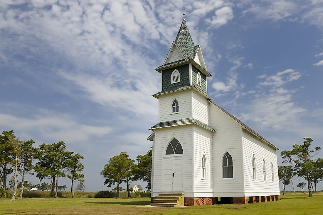 A historic church in North Carolina.