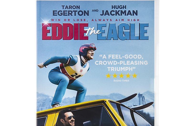 In 2016, a biographical film was produced recounting the life of Eddie the Eagle. Photo credit: urbanbuzz / Shutterstock.com.