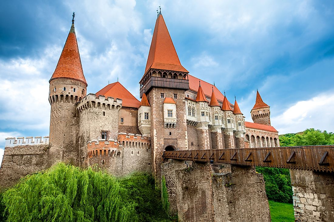 Many experts consider Romania's Corvin Castle, with its iconic Transylvanian architecture, to be the most well-kept medieval structure in southeastern Europe.