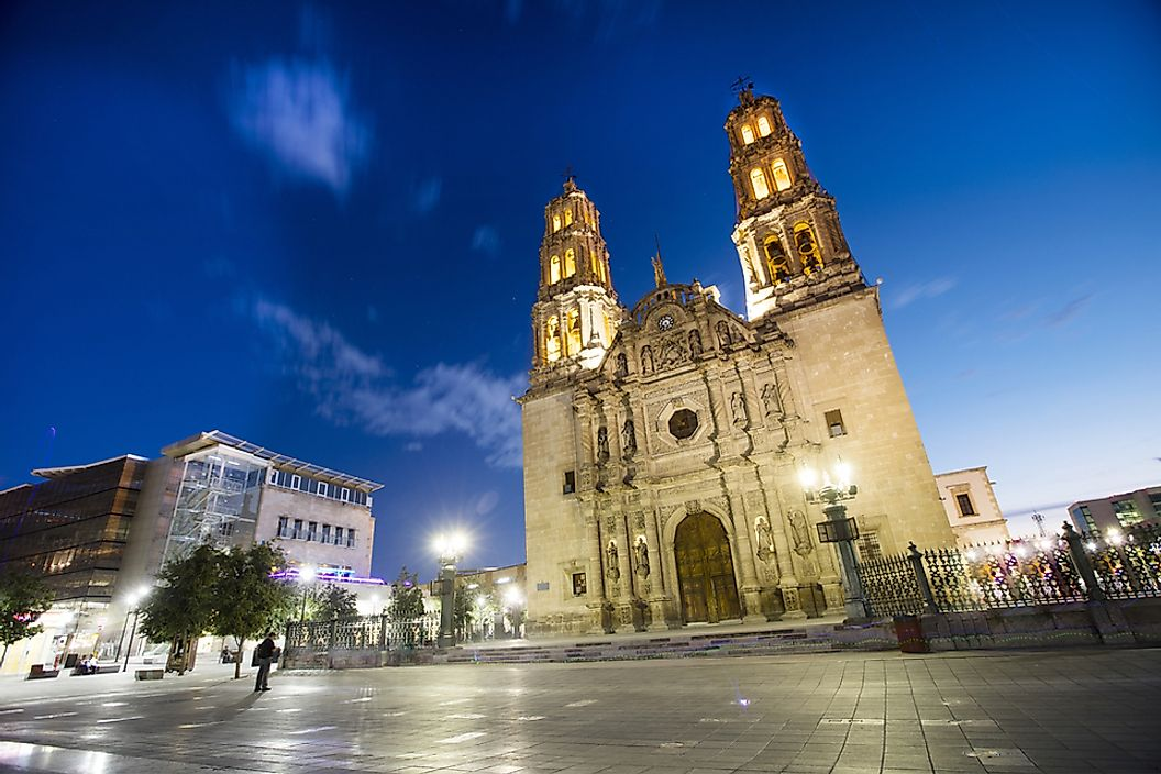 Chihuahua City is the capital of Chihuahua, the largest state in Mexico.