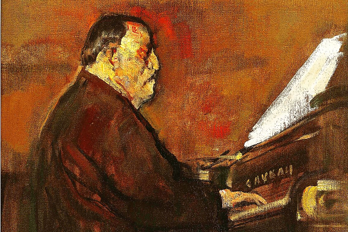 Saint-Saëns served as an organist for more than two decades before becoming a successful freelance composer and pianist.