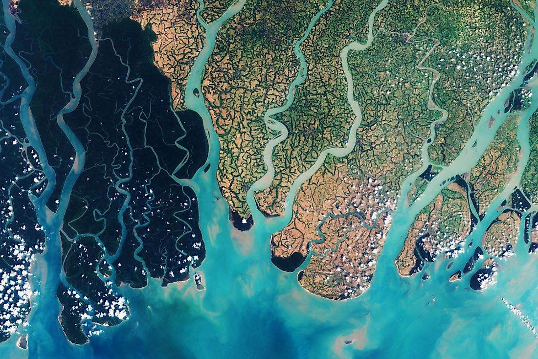 The Sundarbans in Bangladesh is a UNESCO World Heritage Site.