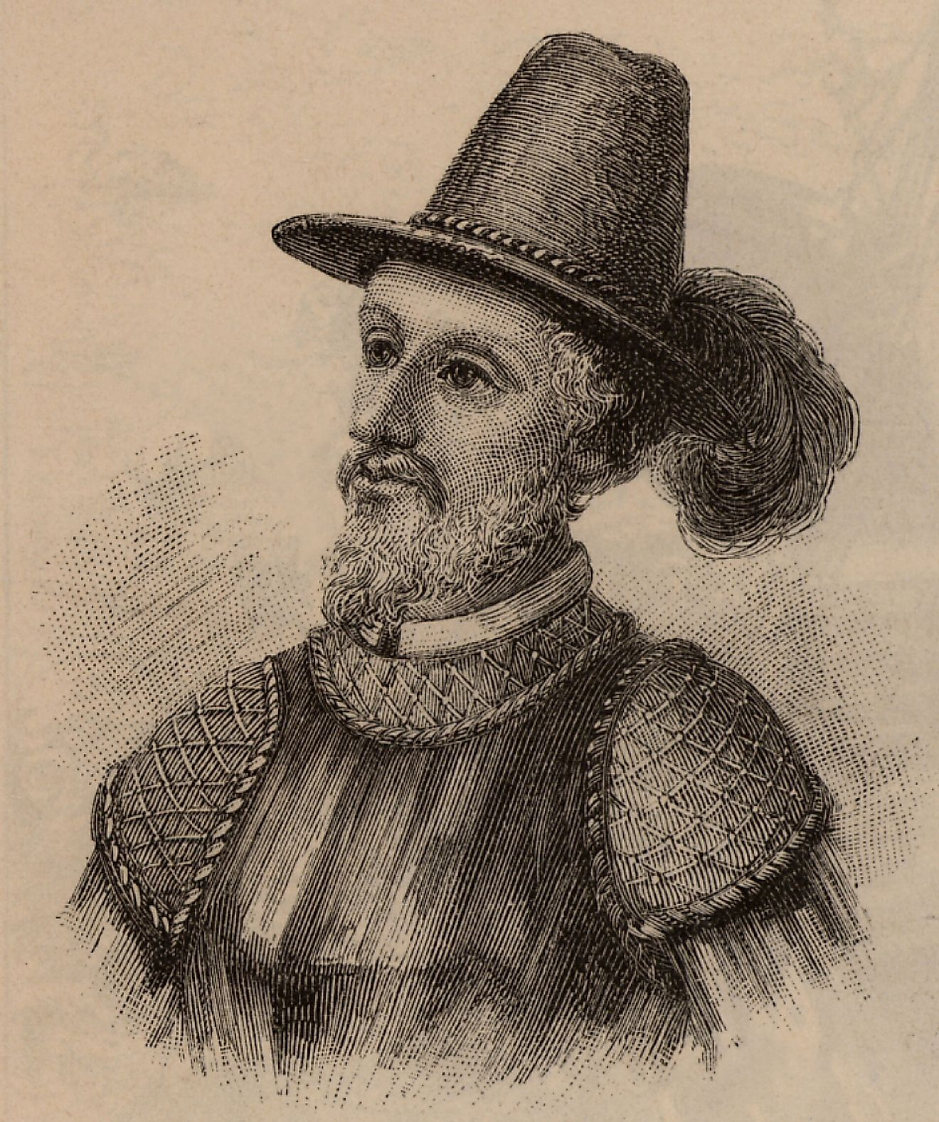 Juan Ponce de León led the first European expedition into Florida, and was appointed as the first Governor of Spanish Puerto Rico.