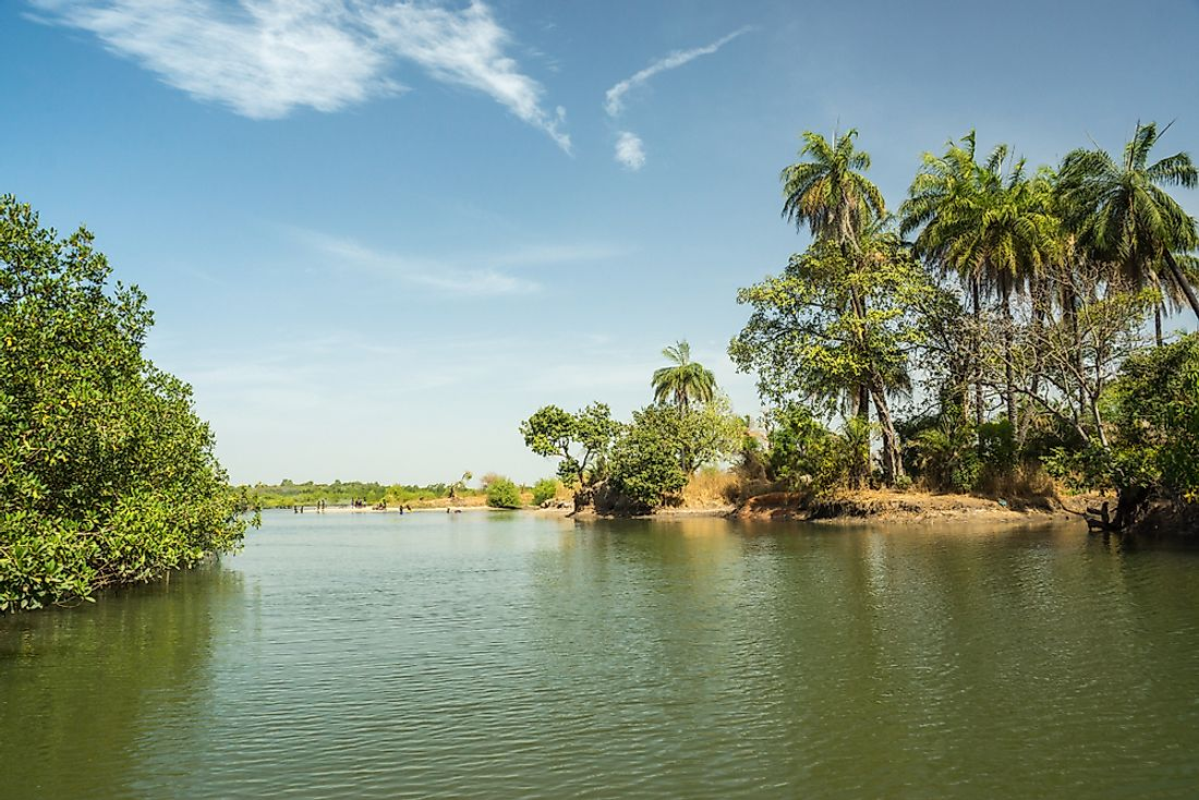 The Gambia River is an important part of the economy of the Gambia.