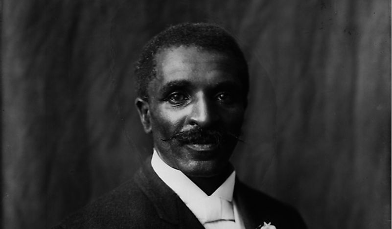 George Washington Carver in 1906.