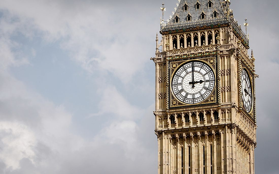 "The name ""Big Ben"" actually refers to the bell inside the clock tower."