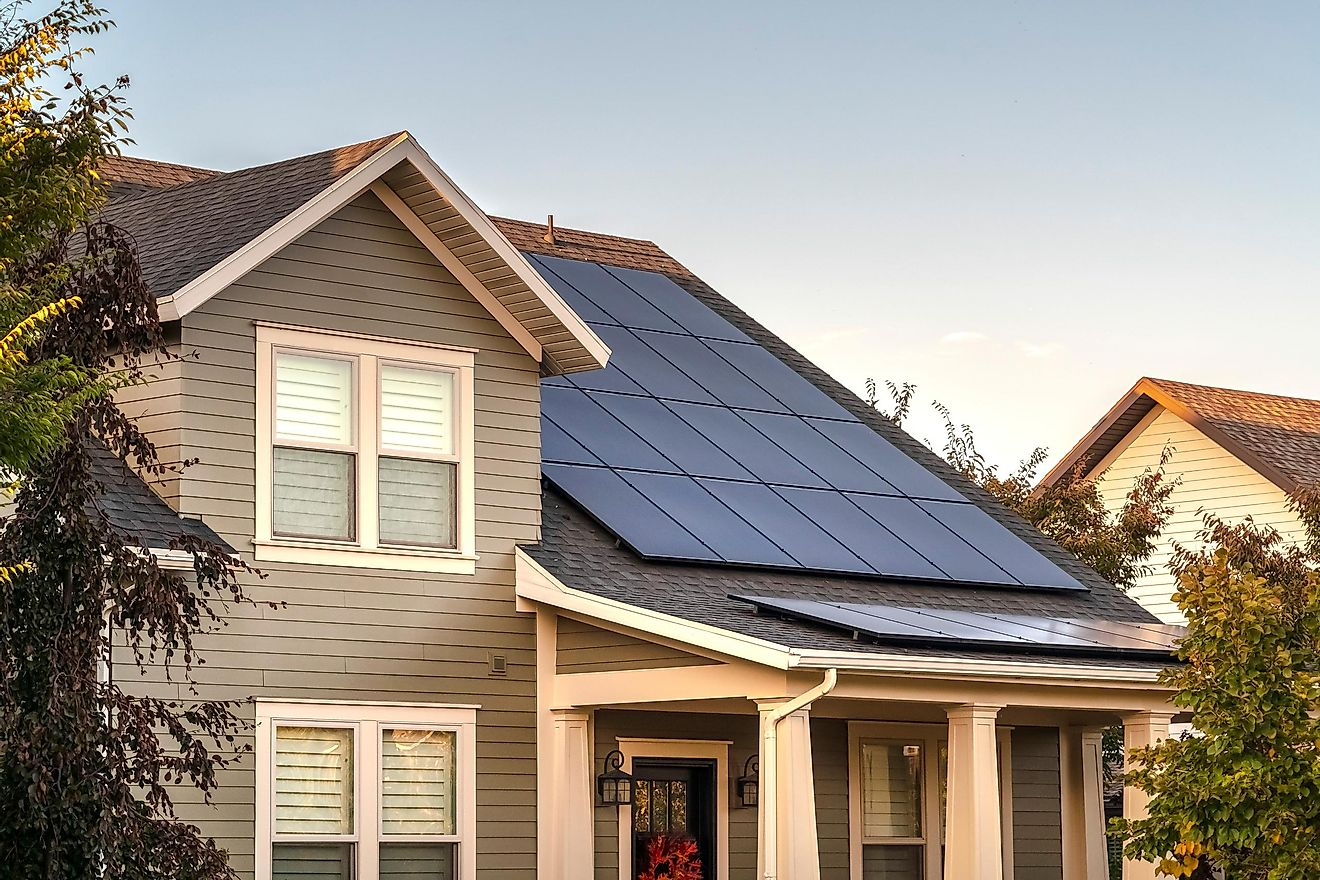 In some cities, home owners can receive tax exemptions for investing in solar panels.