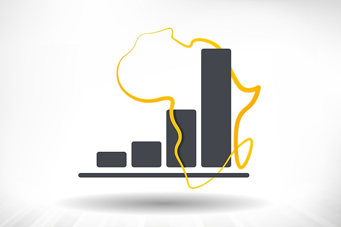 The countries of Africa have shown great economic growth.