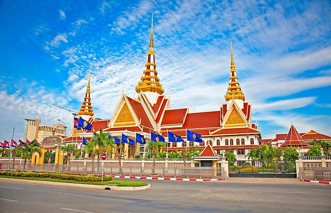 The National Assembly of Cambodia.