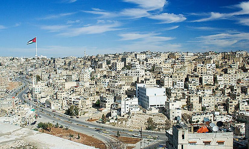 A view of Amman, the capital of Jordan.