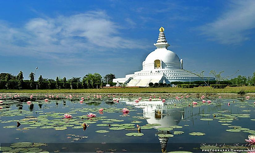 Lumbini is a UNESCO World Heritage Site in Nepal and is significant as the birthplace of Lord Buddha who founded Buddhism.