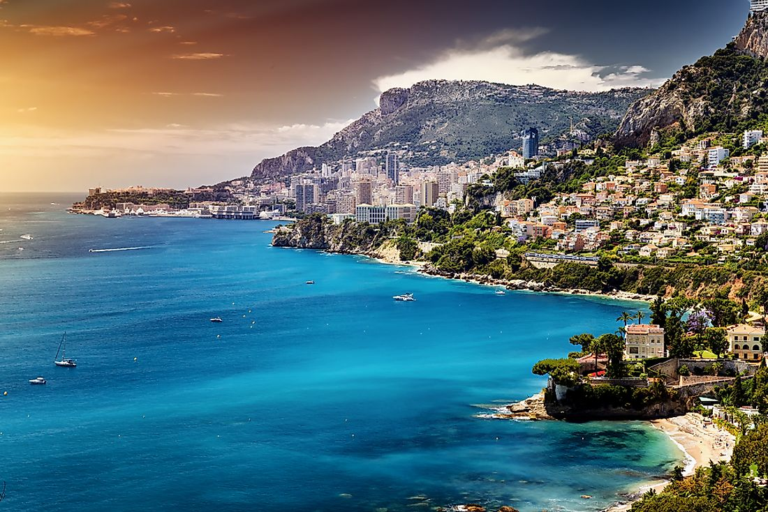 Monaco is the world's most expensive city to by land.