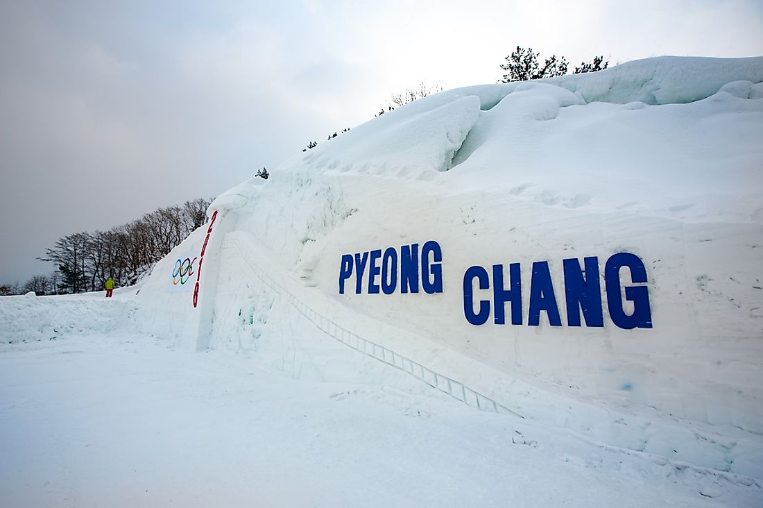 Pyeongchang will host the 2018 Winter Olympics. Editorial credit: SiHo / Shutterstock.com