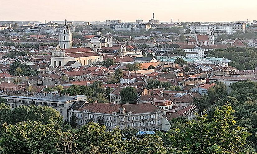 The Old Town of Vilnius