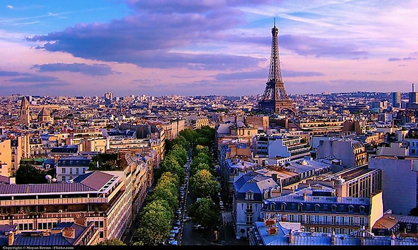 The beautiful city of Paris is one of the top tourist destinations in the world.