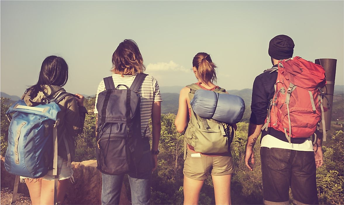 Backpacking is typically a cost effective means of travelling.