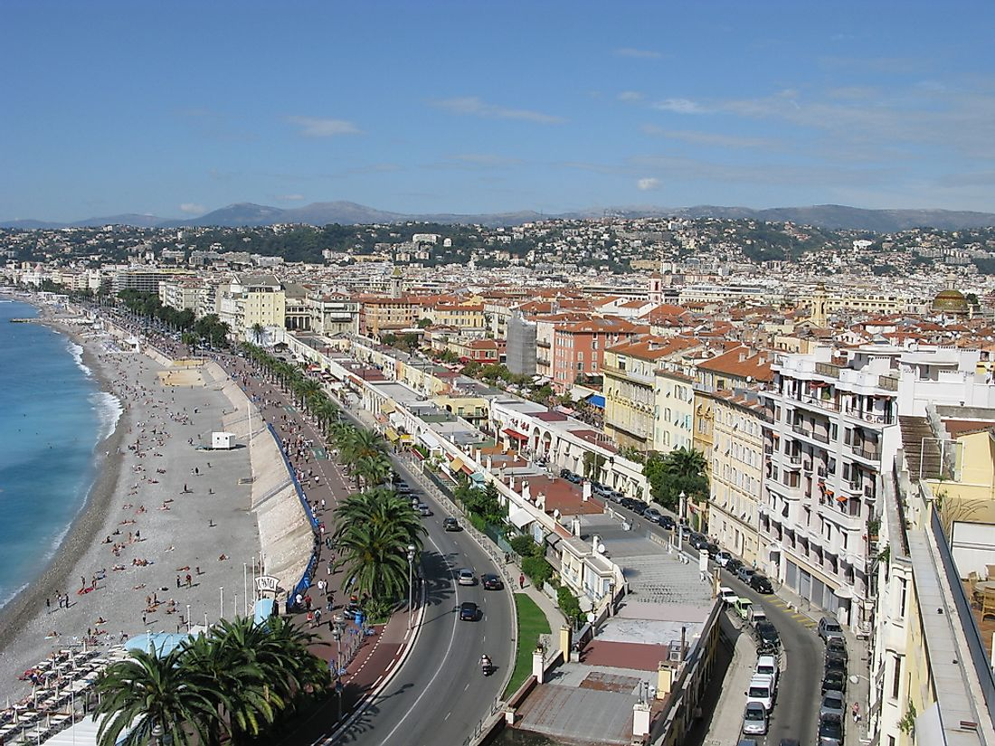 The Promenade des Anglais, in the southern French city of Nice, was the site of one of the most deadly terrorist attacks in Europe.
