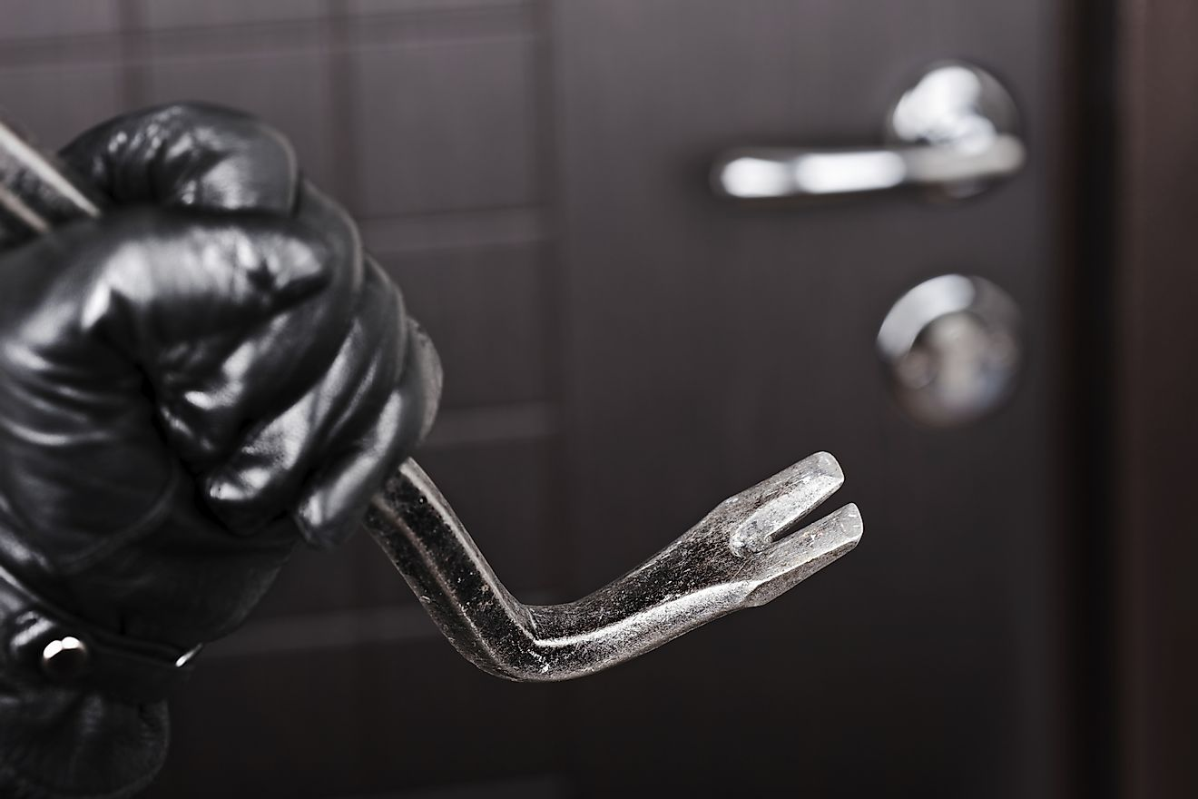 There are no fewer than four burglaries in the United States every minute, or one burglary every 15 seconds.