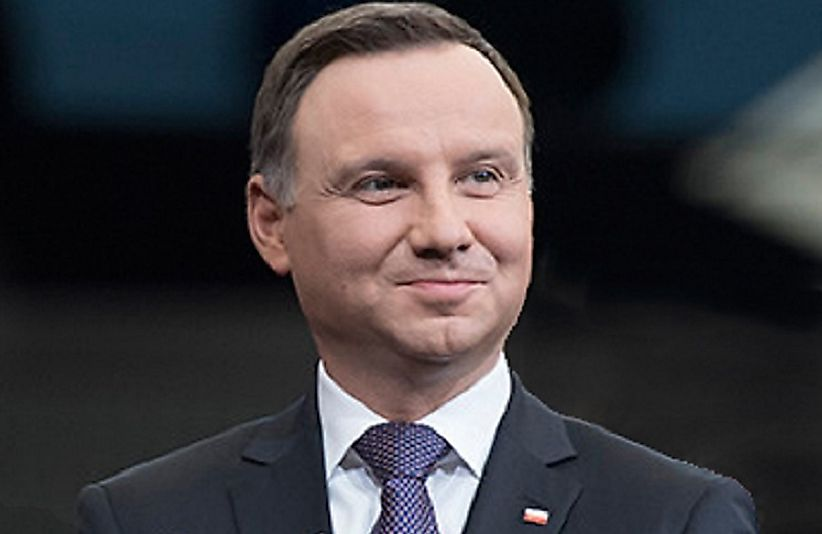 Andrzej Duda became President of Poland in 2015.