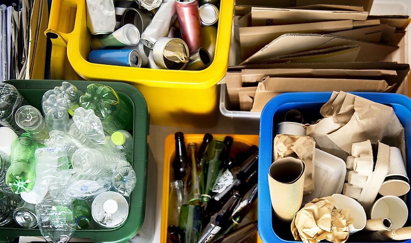 Trash segregated for recycling. Image credit: Rawpixel.com/Shutterstock.com