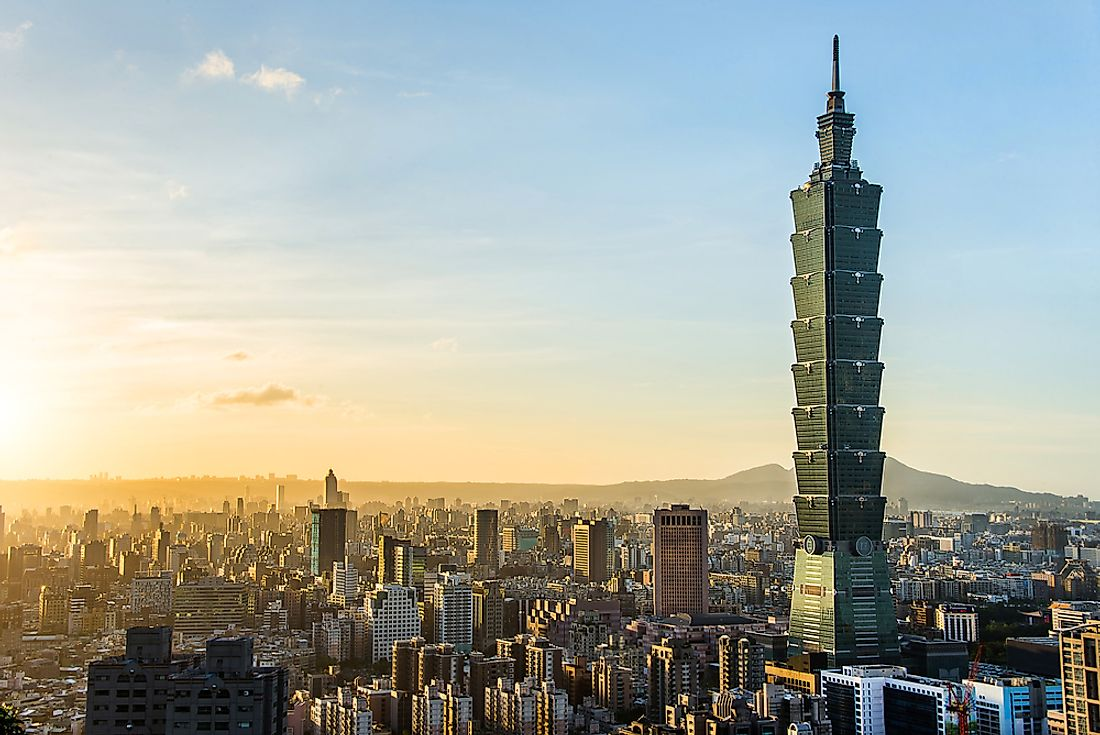 During the last half of the 20th century, Taiwan experienced immense economic growth. Editorial credit: kikujungboy / Shutterstock.com.