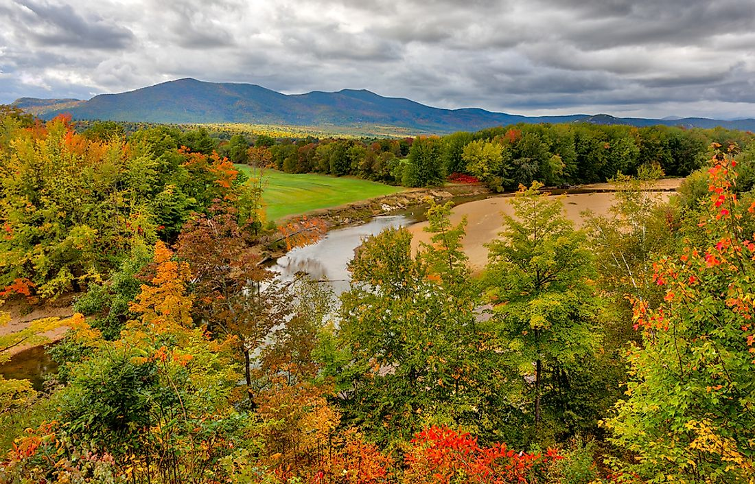 The Saco River in Hampshire.