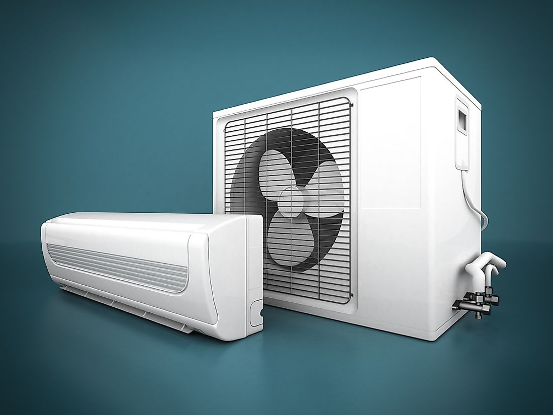 In the ranking of the most traded products in the globe, air conditioners come 78th.