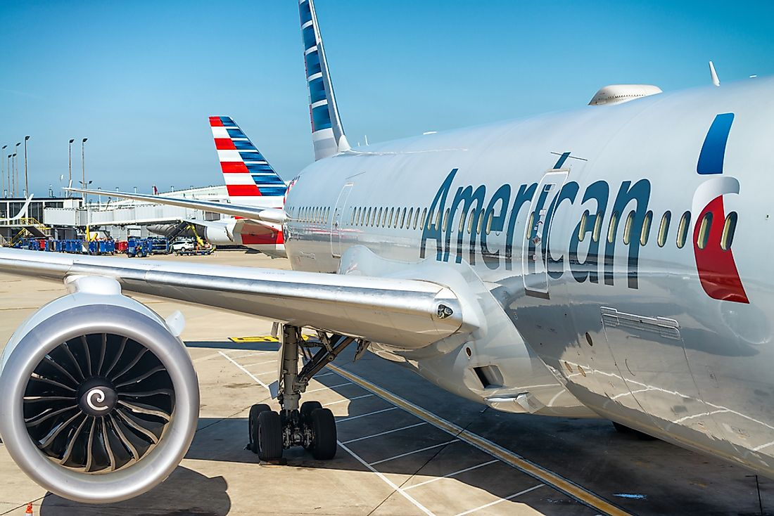 American Airlines is the largest airline in the world by number of passengers carried. Editorial credit: GagliardiImages / Shutterstock.com.