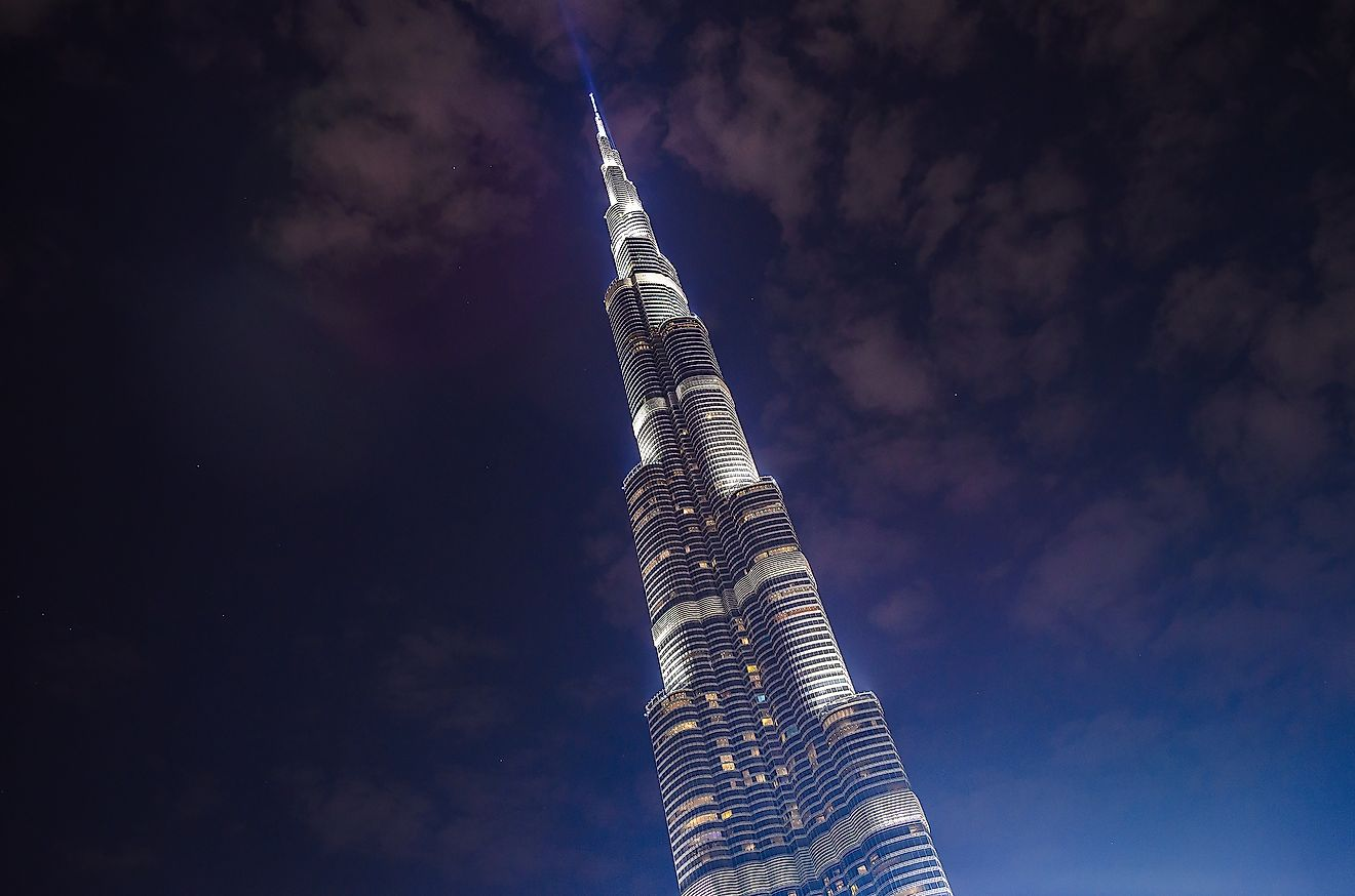 The Burj Khalifa breaks many records that take the height of something into account. Credit: Pit Stock / Shutterstock.com