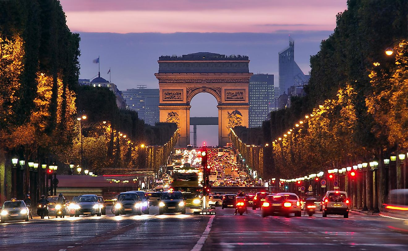 Paris, France is the most visited country in the world. Source: Shutterstock