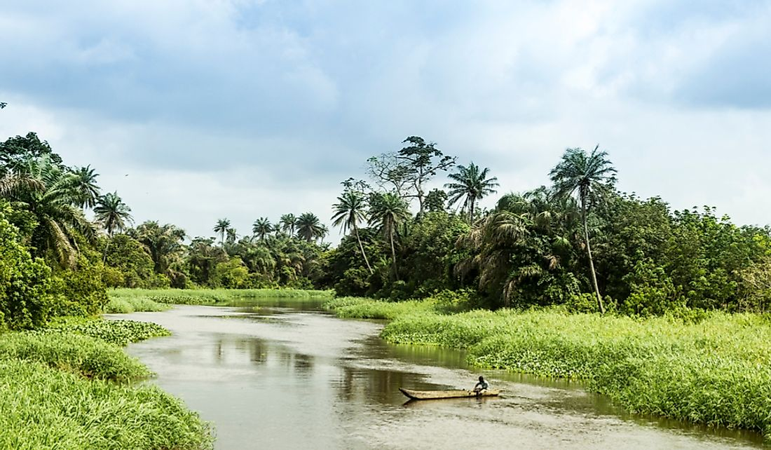 Ivory Coast has significant natural resources.