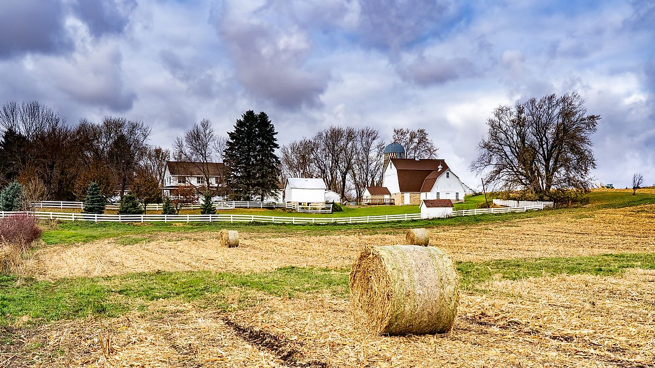 A farm near Northfield, Minnesota.