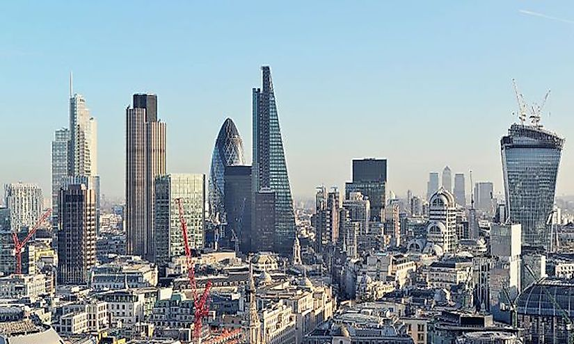 The City of London, United Kingdom is the economic capital of the country.