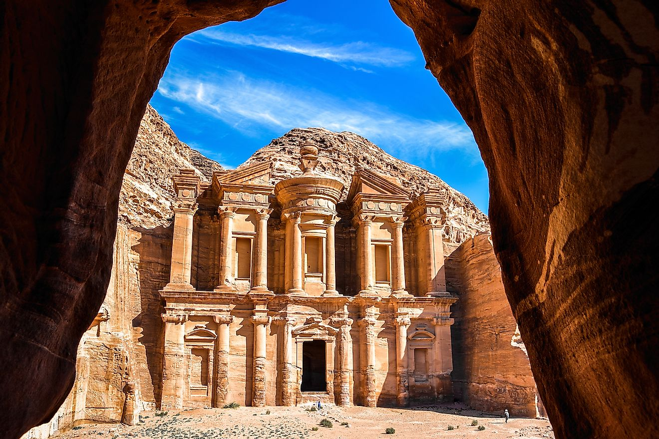 Monastery in the ancient city of Petra, Jordan. Image credit: tenkl/Shutterstock.com
