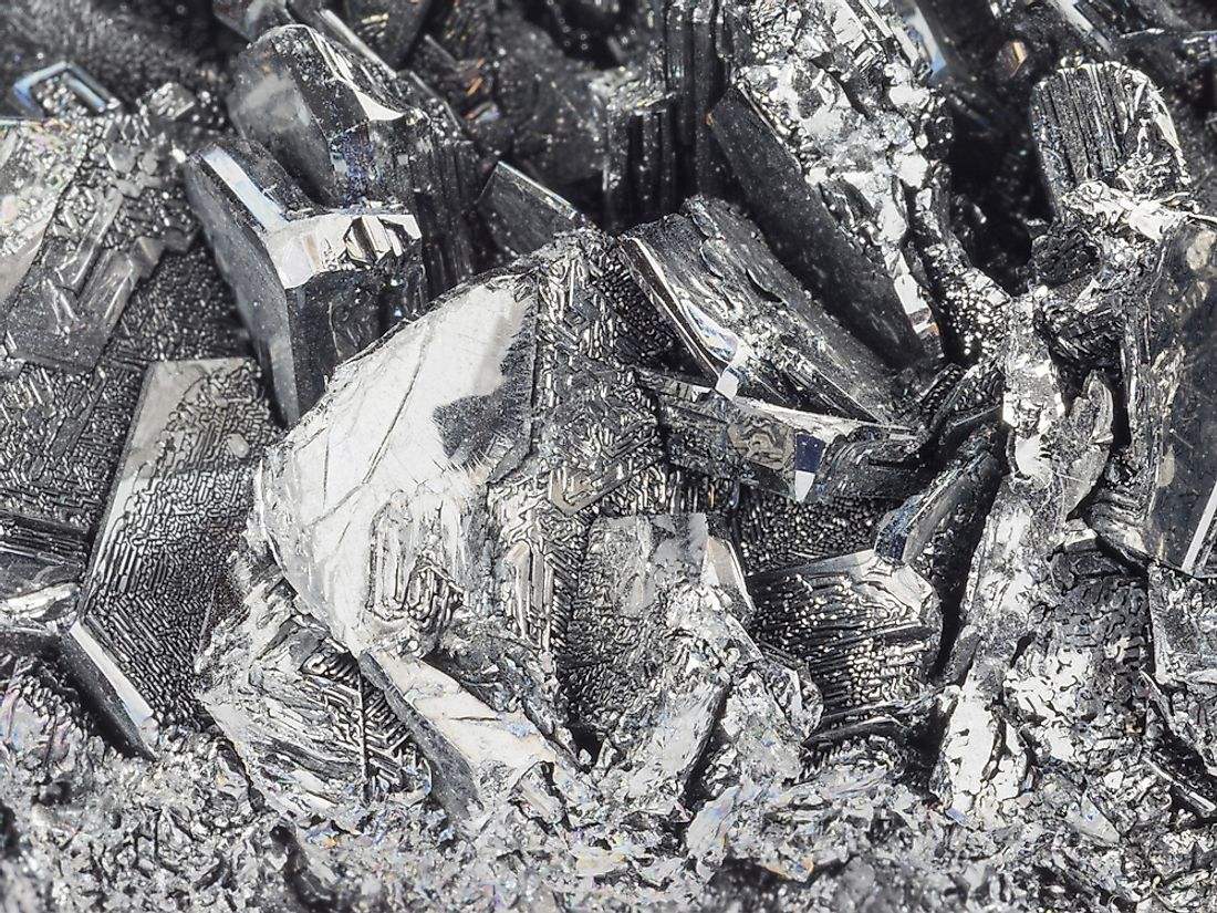 Tin occurs naturally within the environment as ore.