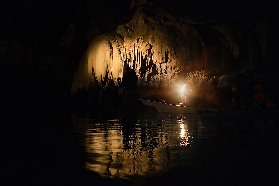 Prior to 2018, the Puerto Princesa Subterranean River in the Philippines was thought to be the longest underground river in the world.