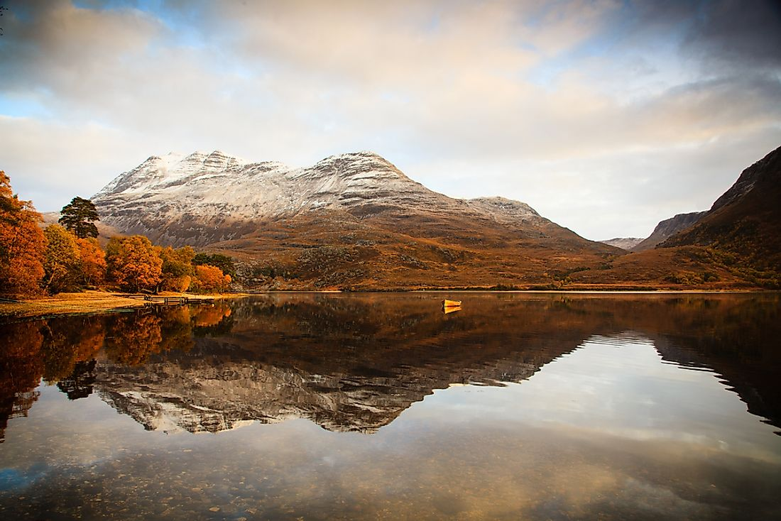 Loch Maree is referred to as the most beautiful loch in the Scottish highlands.