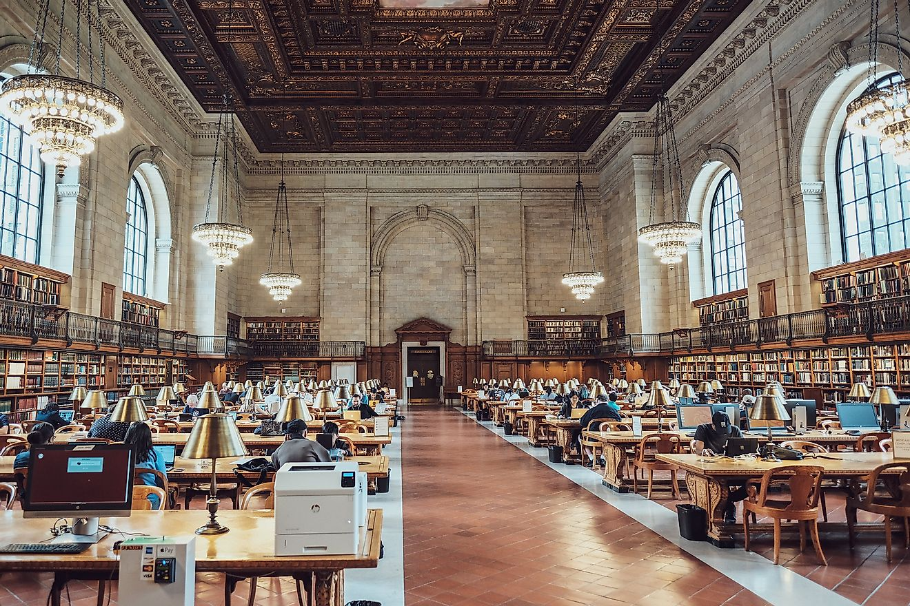 The New York Public Library. Image credit: Soomness/Flickr.com
