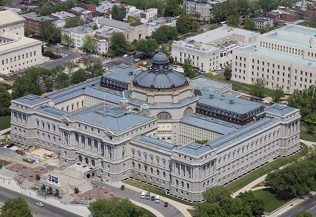 The Thomas Jefferson Building of the ​The Library of Congress