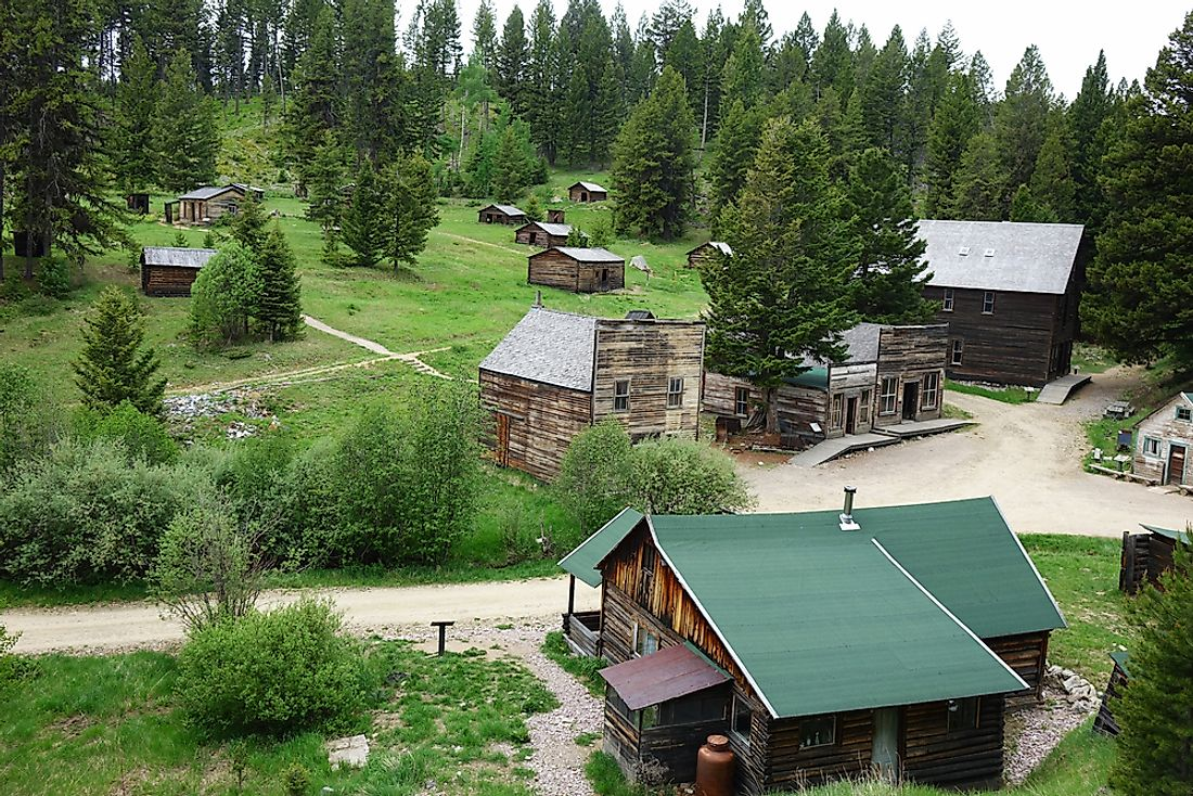 Garnet is one of the most intact ghost towns in the United States.