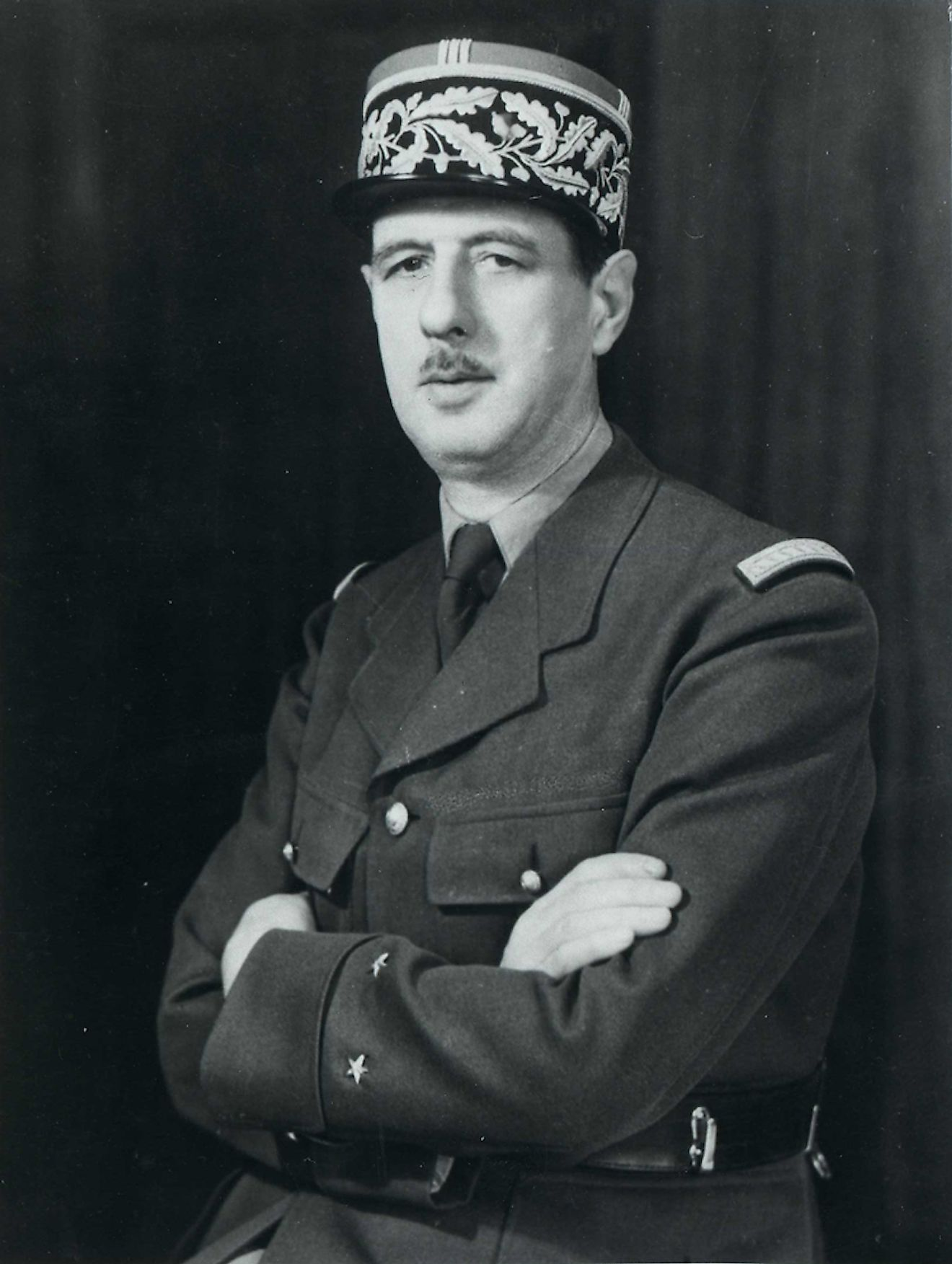 Charles De Gaulle. Image credit: The National Archives UK