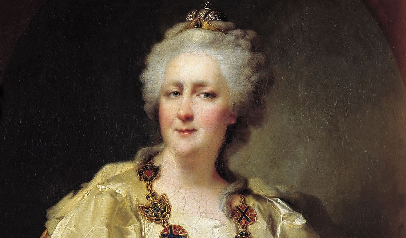 Among her various contributions, Catherine II founded the city of Odessa (now in Modern-day Ukraine) after defeating the Ottomans in the area in the late 18th Century.