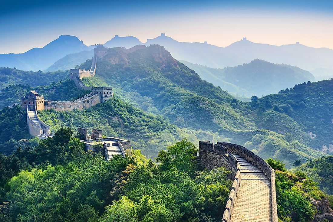 No matter where you see it from, the Great Wall is truly spectacular.