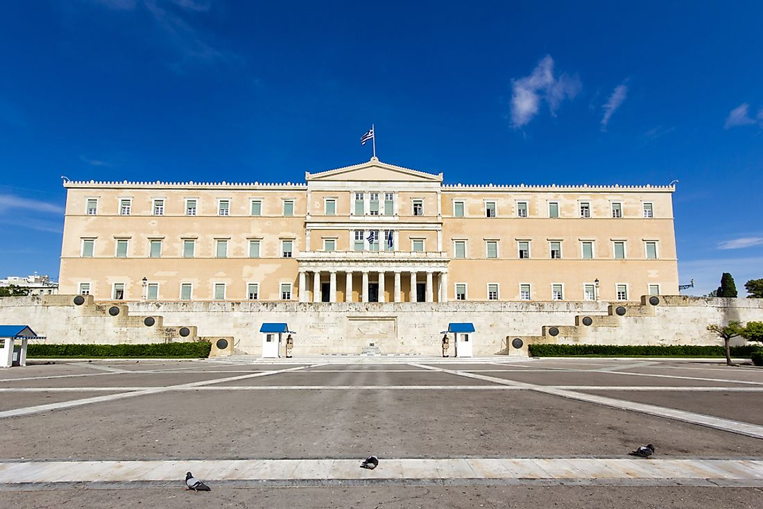 The Hellenic ​Parliament Of Greece.