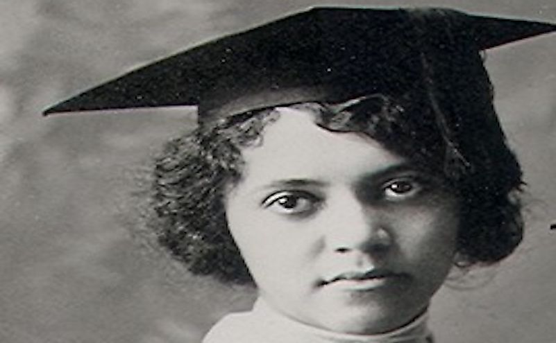 Alice Ball, the first black woman to earn a masters' degree in the United States.
