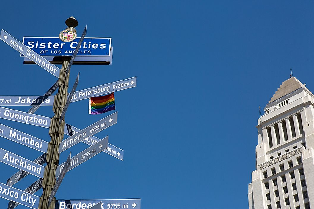 A list of Los Angeles' sister cities.