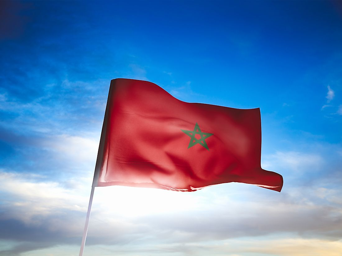 Morocco ranks as the world's most patriotic country.